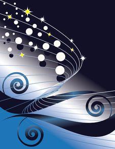 Free Sparkling Swirl Stock Photography - 8871142