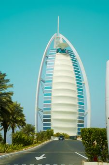 Free Burj Al Arab Emirates Royalty Free Stock Photos - 8871408