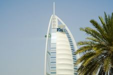 Free Burj Al Arab Hotel Emirates Royalty Free Stock Image - 8871536
