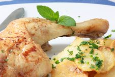 Free Chicken Royalty Free Stock Image - 8871556