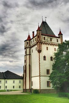 Free White Tower Stock Photography - 8872182