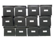 Free Storage Boxes Royalty Free Stock Image - 8872356