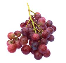 Free Grape Cluster Royalty Free Stock Photography - 8872387