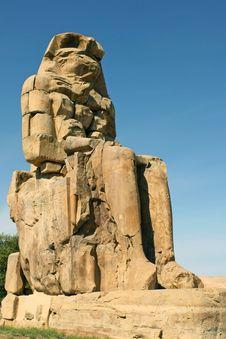 Free Memnon S Colossus Stock Image - 8872611