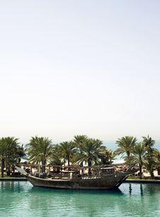Madinat Jumeirah Boat Stock Photos