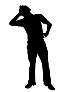 Free Man Posing With Cellphone Royalty Free Stock Photo - 8875115