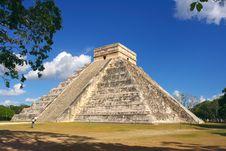 Kukulkan S Pyramid - El Castillo Royalty Free Stock Photography