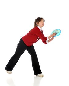 Free Frisbee Catch Royalty Free Stock Image - 8875696