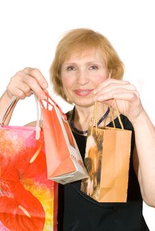 Free Woman With Buying Stock Photos - 8876103