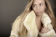 Free Woman In Fur Stock Images - 8876464