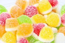 Free Heap From Fruit Candy Stock Image - 8876621