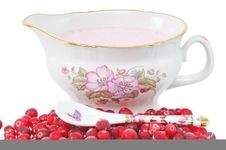 Pile Cranberry Royalty Free Stock Photography