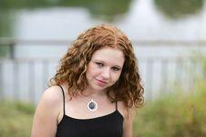 Free Headshot Woman Portrait Stock Image - 8877701