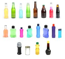 Free Various Containers Royalty Free Stock Photo - 8877785