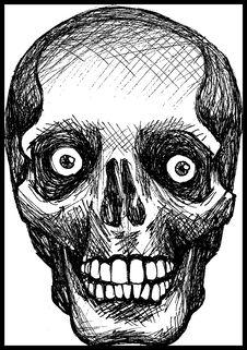 Free Death Skull Stock Photo - 8878160