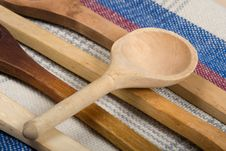Free Spoon Wood Macro Royalty Free Stock Photos - 8878558