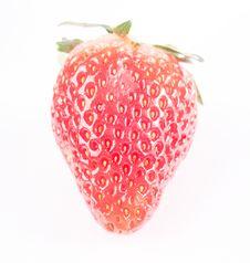 Free Strawberry Isolated On White Royalty Free Stock Photo - 8879085
