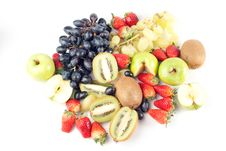 Free Assorted Fresh Fruits Background Royalty Free Stock Images - 8879189