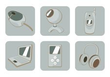 Free Gadgets Icons Stock Images - 8879214