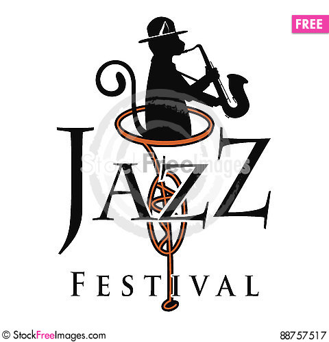 Free Jazz-Cat Playing The Saxophone Vector Illustration Royalty Free Stock Photography - 88757517