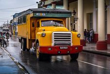 Free Oldtimer Truck, Holguin, Cuba Stock Photos - 88752153