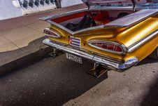 Free Chevrolet Impala Oldtimer, Cienfuegos, Cuba Stock Image - 88752281