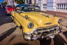 Free Oldtimers, Cienfuegos, Cuba Stock Photography - 88752322