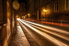Free Prague Streets By Night, Czech Republic Royalty Free Stock Image - 88752456