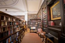 Free The Portico Library Reading Area Royalty Free Stock Photos - 88752568