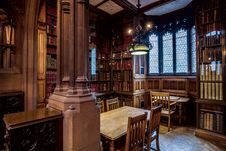 Free The John Rylands Library Study Area Stock Photo - 88752700