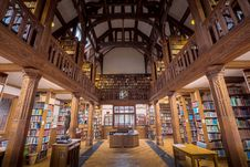 Free Gladstone S Library Central View Royalty Free Stock Photography - 88752977