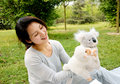 Free Mother Playing Plush Toys With Son Royalty Free Stock Images - 8881009