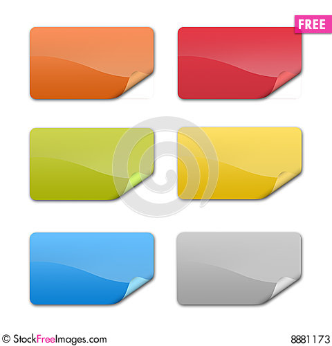 Free Badge Prix And Notes Stock Photos - 8881173