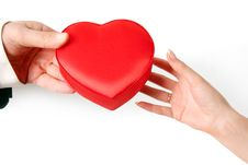 Free Heart In Hands Stock Images - 8881014