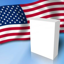 Free USA Elections Box Stock Images - 8881494