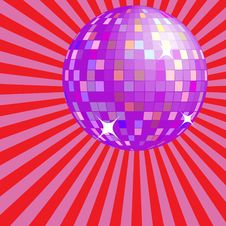 Free Disco Ball Royalty Free Stock Image - 8881596