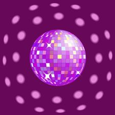 Free Disco Light Royalty Free Stock Image - 8881656