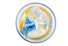 Inside A Drink Stock Images