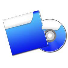 CD Or DVD Box Stock Photo