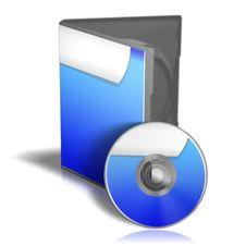 CD Or DVD Box Stock Image