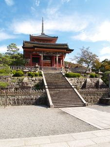 Kiyomizu Shrine Royalty Free Stock Photo