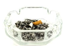 Free Extinguished Cigarette Stock Photo - 8883010