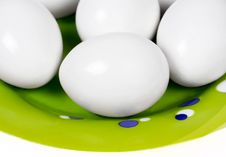 Closed Up Eggs Stock Images