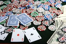 Free Poker Stock Images - 8884994