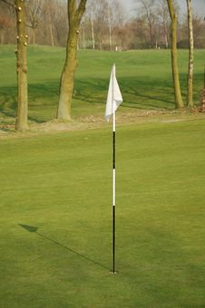 Free Putting Flag Stock Images - 8885474