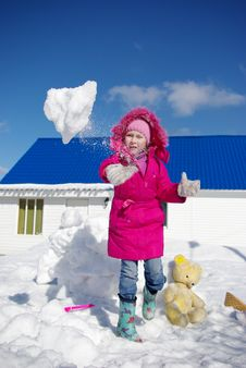 Free Game Of Snowballs Stock Images - 8886074