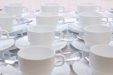Free White Cups Stock Photos - 8886393