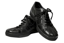 Free Black Shoes Royalty Free Stock Images - 8886409