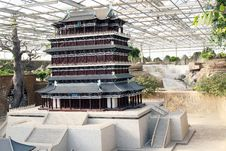 Free Chinese Ancient Building Stock Image - 8886411