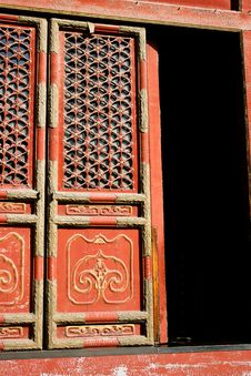 Free Ornamented Door Stock Image - 8886651